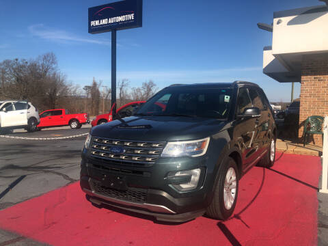 2016 Ford Explorer for sale at Penland Automotive Group in Taylors SC