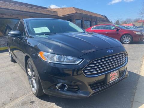 2013 Ford Fusion for sale at Zs Auto Sales in Kenosha WI