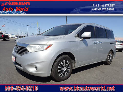 2012 Nissan Quest for sale at Bruce Kirkham Auto World in Yakima WA