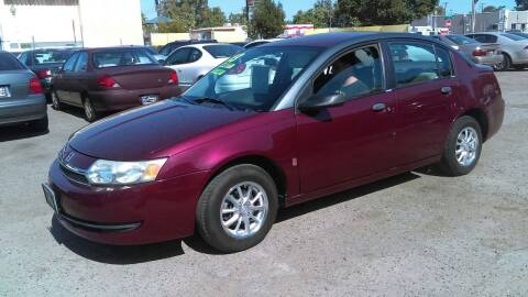 2003 Saturn Ion for sale at Larry's Auto Sales Inc. in Fresno CA