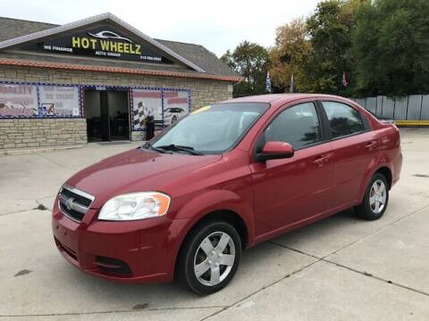 2011 Chevrolet Aveo for sale at HotWheelz Auto Group in Detroit MI