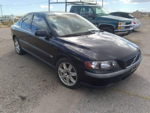 2002 Volvo S60 for sale at PYRAMID MOTORS - Pueblo Lot in Pueblo CO
