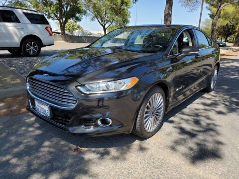 2013 Ford Fusion Hybrid for sale at Matador Motors in Sacramento CA
