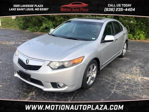 2012 Acura TSX for sale at Motion Auto Plaza in Lakeside MO