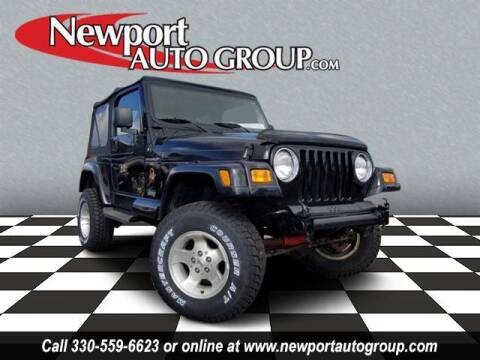 2000 Jeep Wrangler for sale at Newport Auto Group in Austintown OH