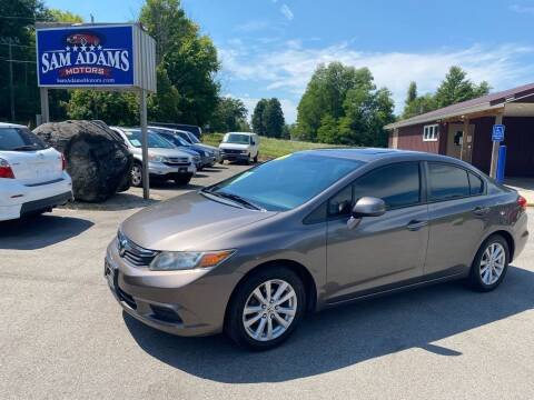 2012 Honda Civic for sale at Sam Adams Motors in Cedar Springs MI