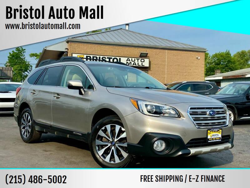 2015 Subaru Outback for sale at Bristol Auto Mall in Levittown PA