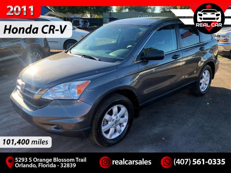 2011 Honda CR-V for sale at Real Car Sales in Orlando FL