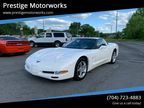 2002 Chevrolet Corvette for sale at Prestige Motorworks in Concord NC