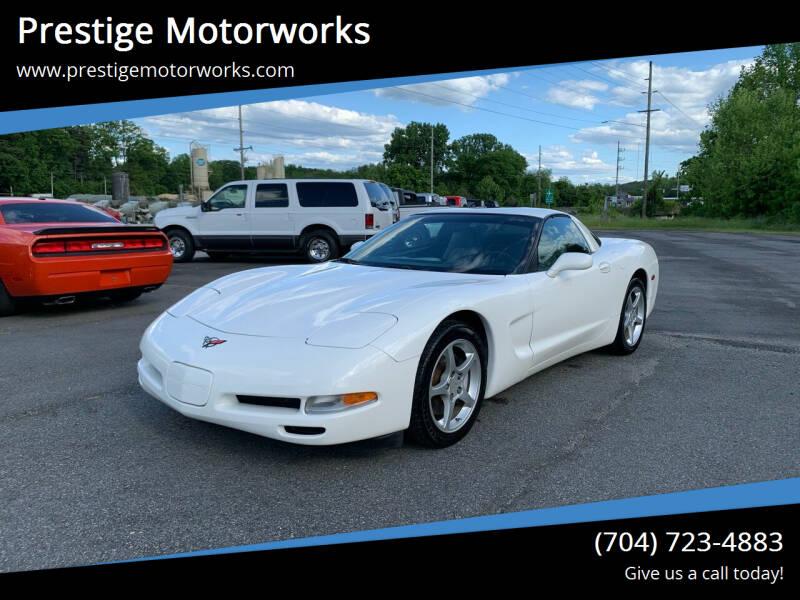 2002 Chevrolet Corvette for sale at Prestige Motorworks in Concord NC