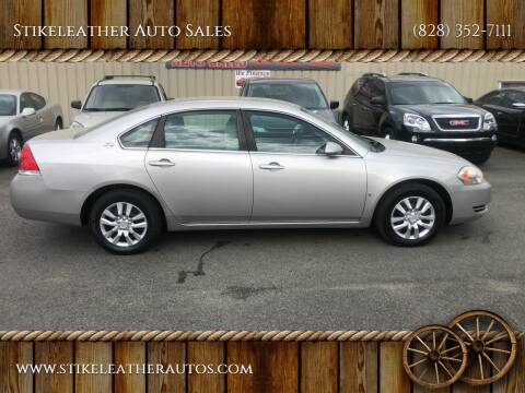2008 Chevrolet Impala for sale at Stikeleather Auto Sales in Taylorsville NC