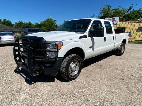 2012 Ford F-350 Super Duty for sale at RODRIGUEZ MOTORS CO. in Houston TX