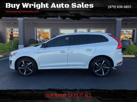 2016 Volvo XC60 for sale at Buy Wright Auto Sales in Rogers AR
