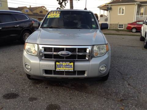 2008 Ford Escape for sale at Worldwide Auto Sales in Fall River MA