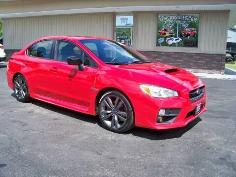 2017 Subaru WRX for sale at RPM Auto Sales in Mogadore OH