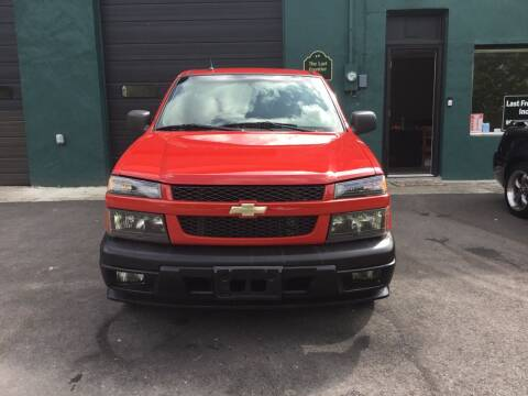 2009 Chevrolet Colorado for sale at Last Frontier Inc in Blairstown NJ