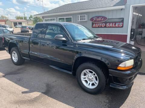 2003 Dodge Dakota for sale at PETE'S AUTO SALES LLC - Dayton in Dayton OH