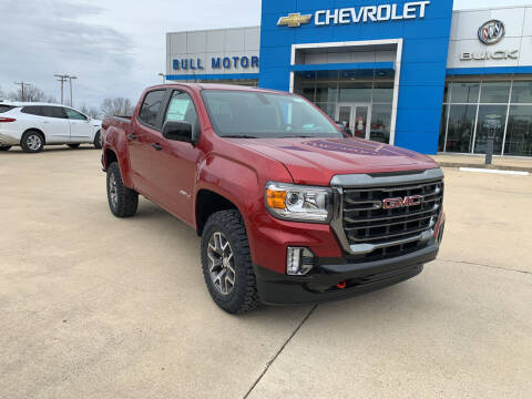 2021 GMC Canyon for sale at BULL MOTOR COMPANY in Wynne AR