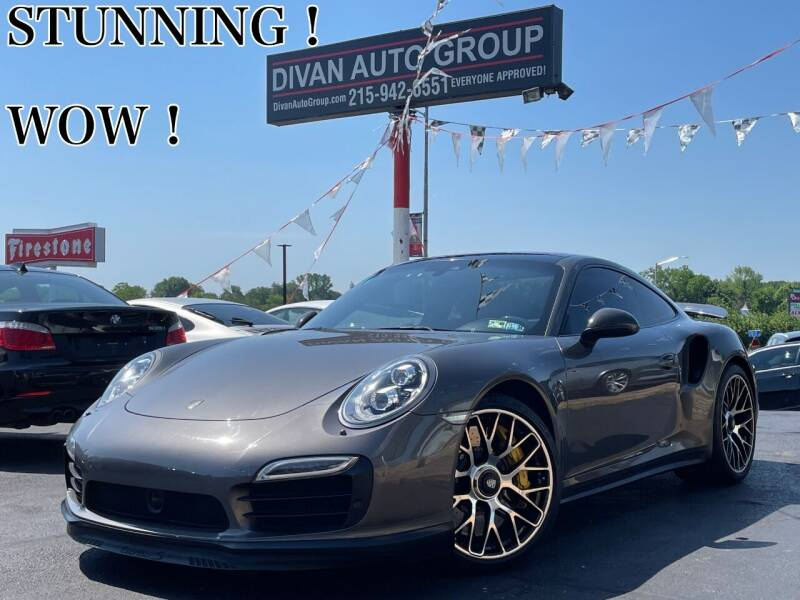 2014 Porsche 911 for sale at Divan Auto Group in Feasterville PA