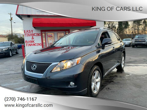 2011 Lexus RX 350 for sale at King of Cars LLC in Bowling Green KY