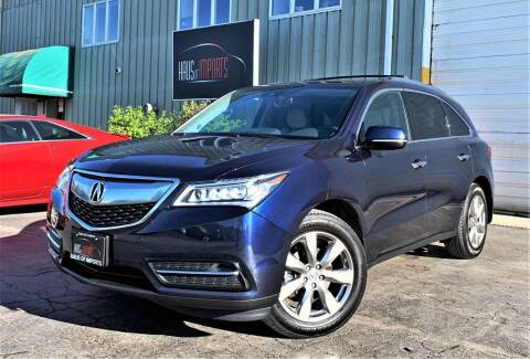2016 Acura MDX for sale at Haus of Imports in Lemont IL