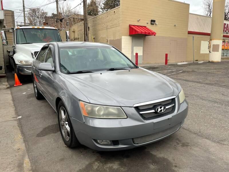 2008 Hyundai Sonata for sale at Capitol Hill Auto Sales LLC in Denver CO