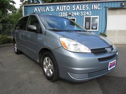2004 Toyota Sienna for sale at Avilas Auto Sales Inc in Burien WA