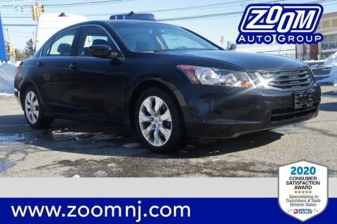 2010 Honda Accord for sale at Zoom Auto Group in Parsippany NJ