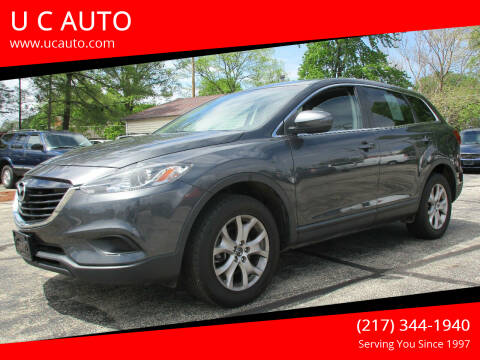 2015 Mazda CX-9 for sale at U C AUTO in Urbana IL