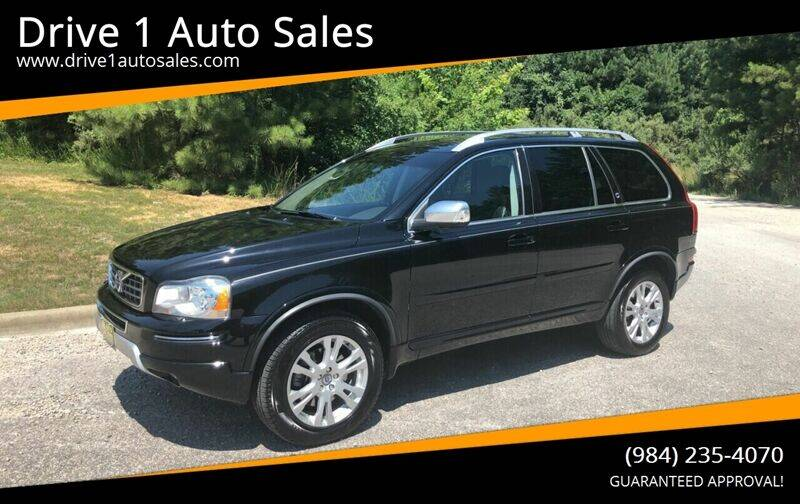 2014 Volvo XC90 for sale at Drive 1 Auto Sales in Wake Forest NC