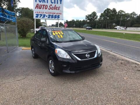 2012 Nissan Versa for sale at Port City Auto Sales in Baton Rouge LA