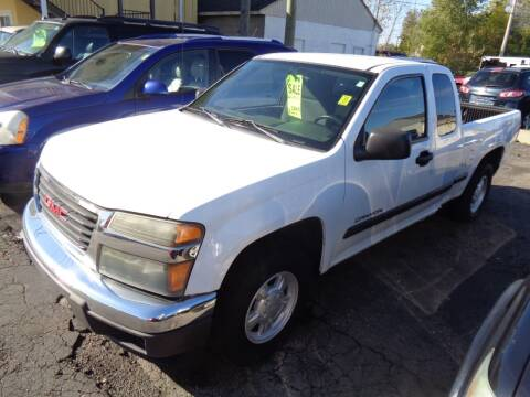 2005 GMC Canyon for sale at Aspen Auto Sales in Wayne MI