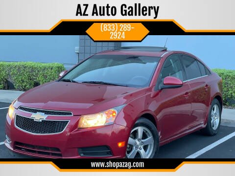 2014 Chevrolet Cruze for sale at AZ Auto Gallery in Mesa AZ