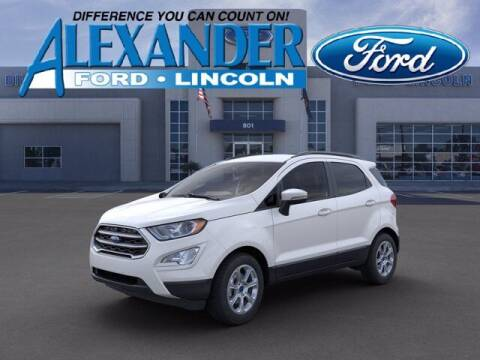 2020 Ford EcoSport for sale at Bill Alexander Ford Lincoln in Yuma AZ