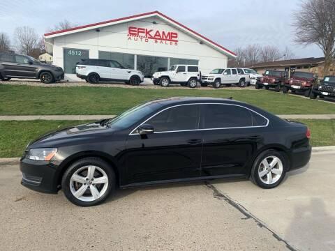 2013 Volkswagen Passat for sale at Efkamp Auto Sales LLC in Des Moines IA