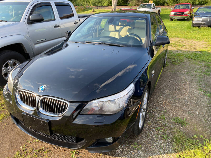 2010 BMW 5 Series for sale at Richard C Peck Auto Sales in Wellsville NY