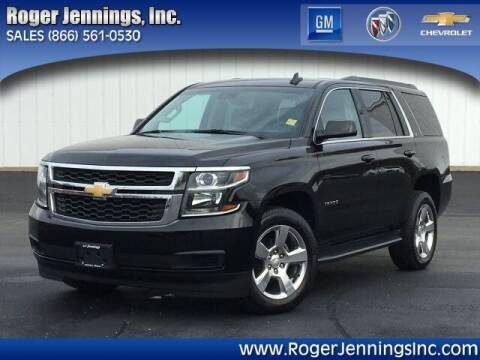 2016 Chevrolet Tahoe for sale at ROGER JENNINGS INC in Hillsboro IL