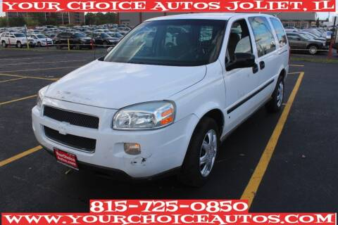 2008 Chevrolet Uplander for sale at Your Choice Autos - Joliet in Joliet IL