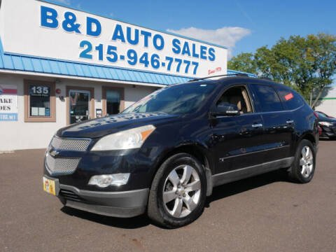 2009 Chevrolet Traverse for sale at B & D Auto Sales Inc. in Fairless Hills PA