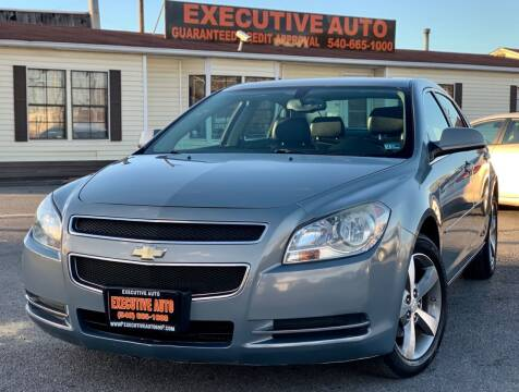 2009 Chevrolet Malibu for sale at Executive Auto in Winchester VA