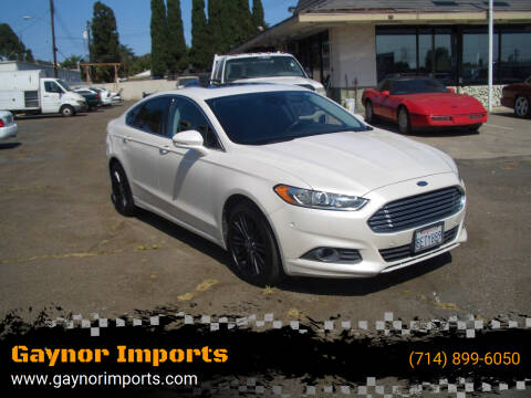 2013 Ford Fusion for sale at Gaynor Imports in Stanton CA