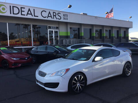 2012 Hyundai Genesis Coupe for sale at Ideal Cars East Mesa in Mesa AZ