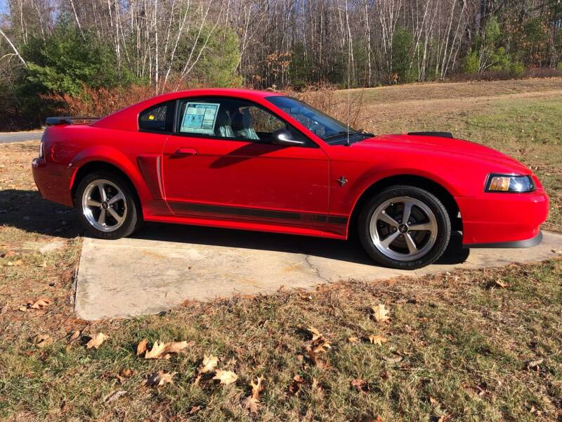 2003 Ford Mustang for sale at Cella  Motors LLC in Auburn NH