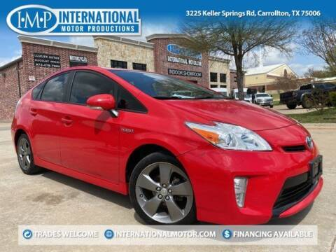 2015 Toyota Prius for sale at International Motor Productions in Carrollton TX