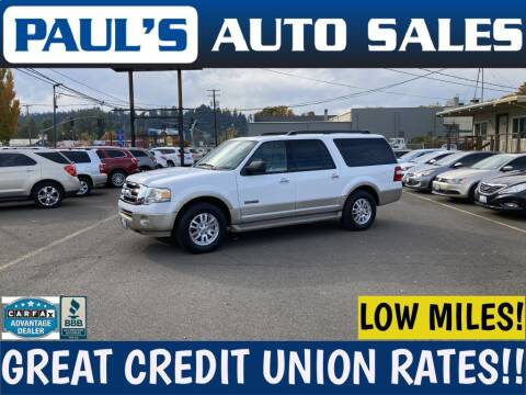 2007 Ford Expedition EL for sale at Paul's Auto Sales in Eugene OR
