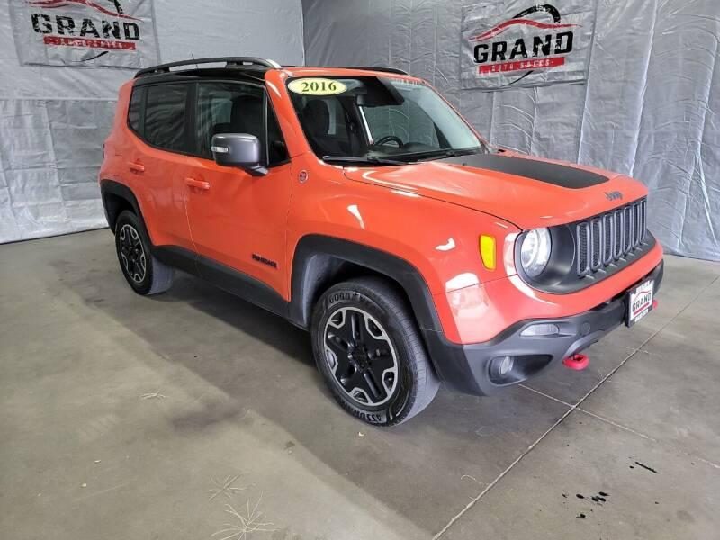 2016 Jeep Renegade for sale at GRAND AUTO SALES in Grand Island NE