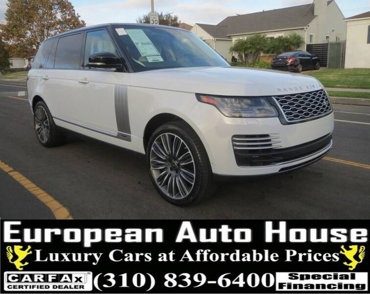 2020 Land Rover Range Rover for sale at European Auto House in Los Angeles CA