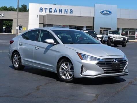 2020 Hyundai Elantra for sale at Stearns Ford in Burlington NC
