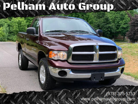 2005 Dodge Ram Pickup 1500 for sale at Pelham Auto Group in Pelham NH