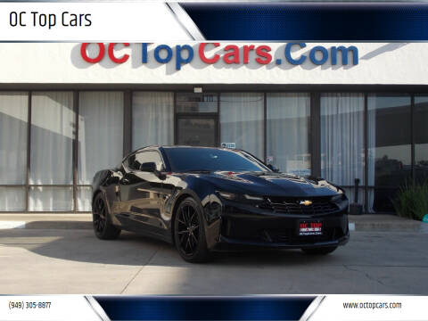 2019 Chevrolet Camaro for sale at OC Top Cars in Irvine CA